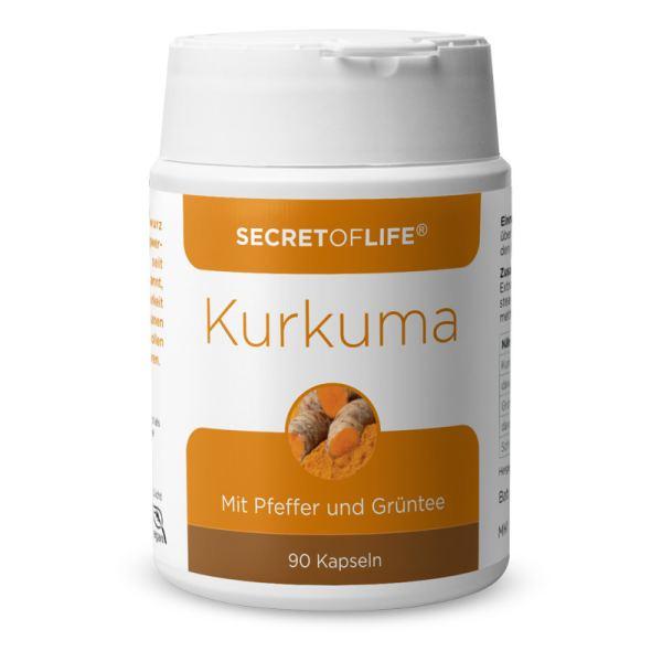 Secret of Life Kurkuma Kapseln 90 Stück