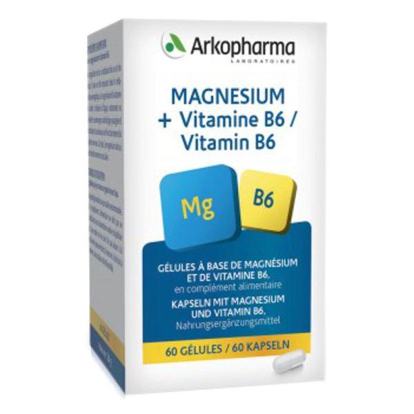 Arkovital Magnesium Vitamin B6 Kapseln 60 Stück