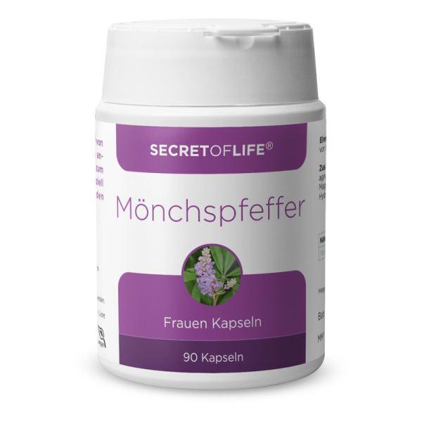 Secret of Life Mönchspfeffer Kapseln 90 Stück