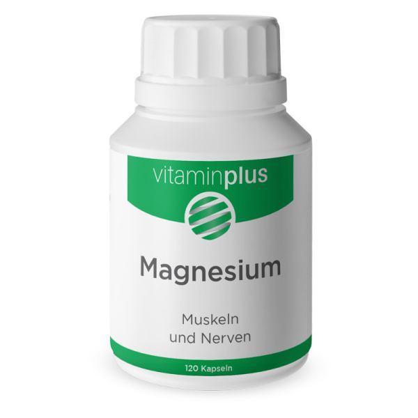 Vitaminplus Magnesium Kapseln 120 Stück