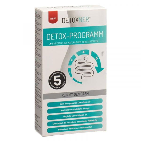Detoxner Detox 5-Tages-Kur zur Darmreinigung