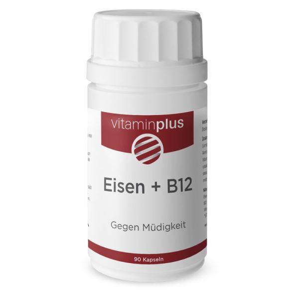 Vitaminplus Eisen + Vitamin B12 vegan 90 Stück